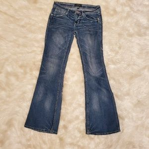 toxic Jeans - Low rise flare jeans